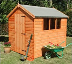 Wooden Garden Shed 1