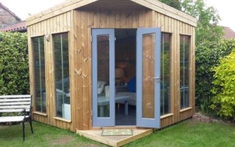 12ft x 6ft Summerhouse Base - Finished
