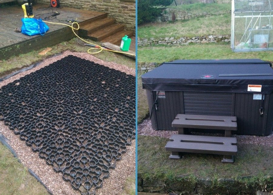 6ft x 6ft Hot Tub Base Case Study - Featured Image