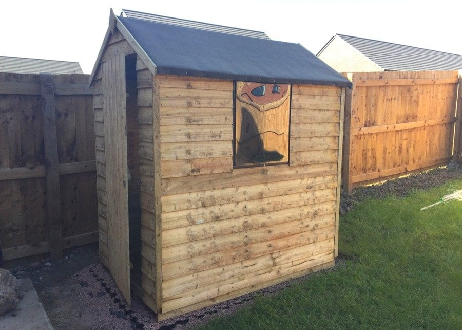 6ft x 4ft Plastic Shed Base Install - Featured Image