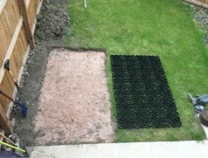 6ft x 4ft Plastic Shed Base Install - Ground Preparation