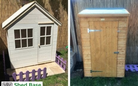 Playhouse and Shed Complete