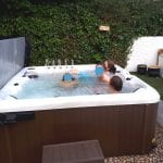7ft x 7ft Hot Tub Installation - Featured Image