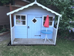9ft x 9ft Playhouse Completed