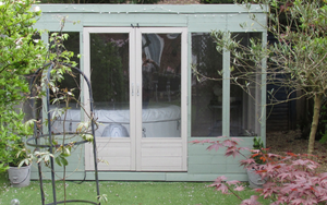 10ft x 8ft Plastic Summerhouse Base Completed