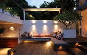 Built In Garden Seating - Outdoor Living Spaces - Shed Base Company