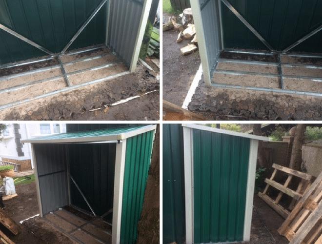 Log Storage Collage