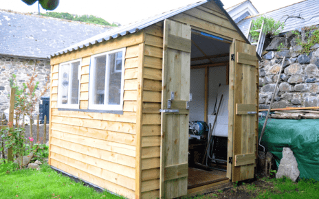 Installing a 7ft x 6ft Plastic Shed Base Featured Image