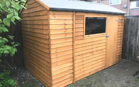 10ft x 6ft Plastic Shed Base Customer Review Project Featured Image