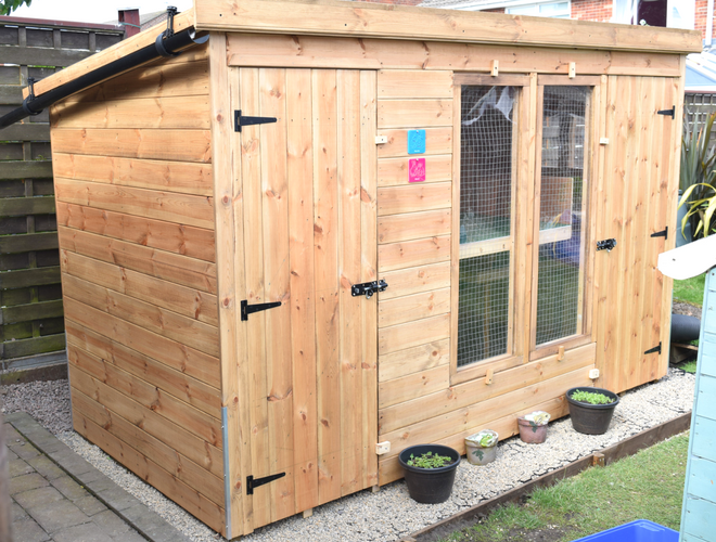 Plastic Shed Base Used Under a Rabbit Kennel And Run Conclusion
