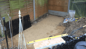 6ft x 4ft Plastic Playhouse Base Ground Prep