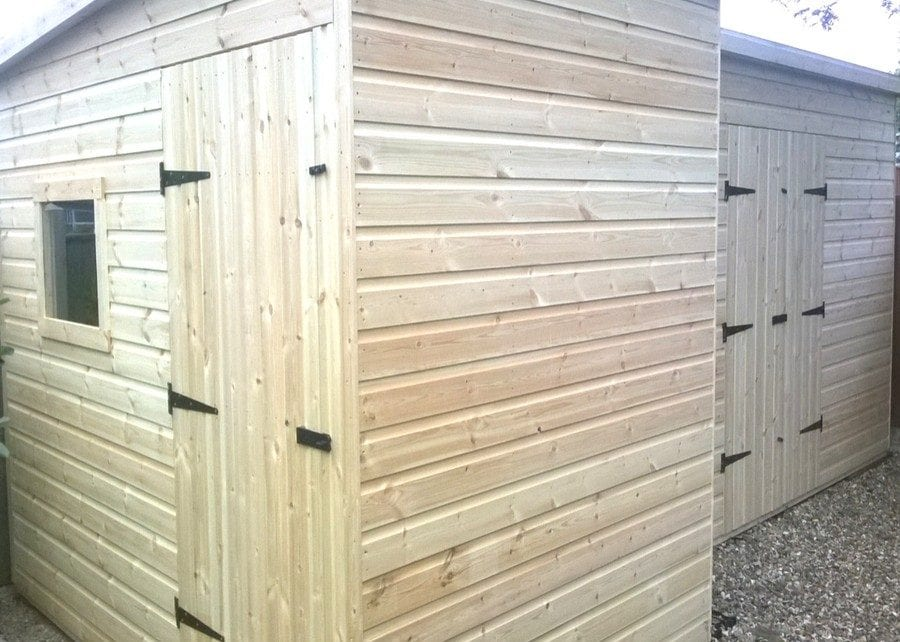 Two Plastic Shed Base Installations - Featured Image