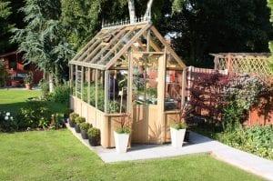 Wood & Metal Greenhouse Image 5