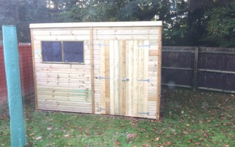 10ft x 8ft Plastic Shed Base Featured Image