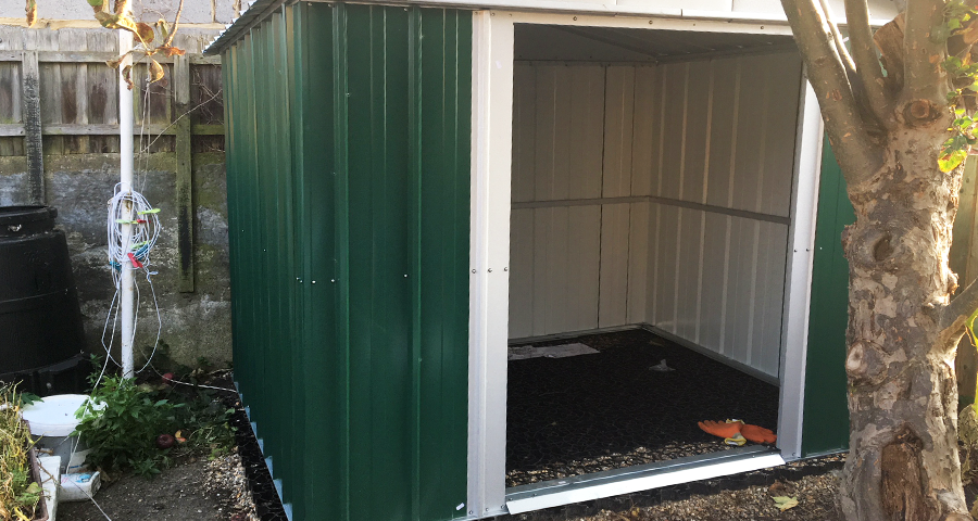 8ft x 6ft Metal Shed Base Featured Image