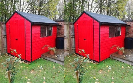 8ft x 6ft Plastic Shed Base Customer Installation Featured Image