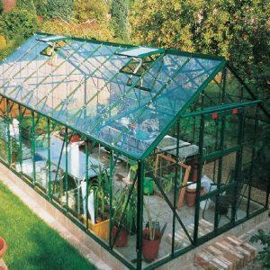 Elbec Garden Buildings - Elite Supreme Aluminium Greenhouse