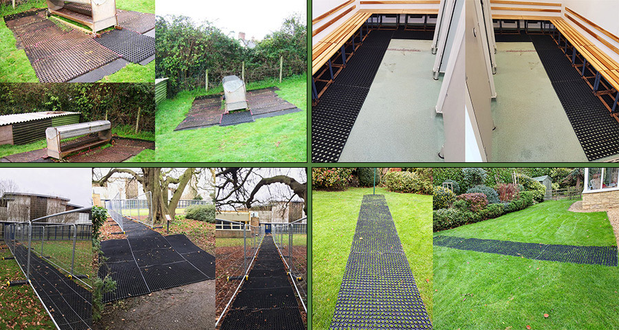 Versatile Rubber Grass Mats Featured Image