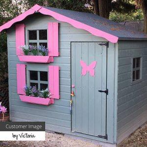 Waltons - Honeypot Playhouse With Loft