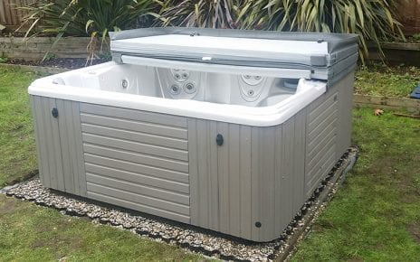 7ft x 7ft Hot Tub Base - Featured Image