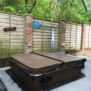 6ft x 6ft Hot Tub Base Install - Install Complete