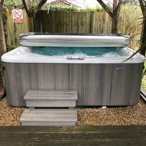 8ft x 8ft Hot Tub Base Installation - Installation Complete