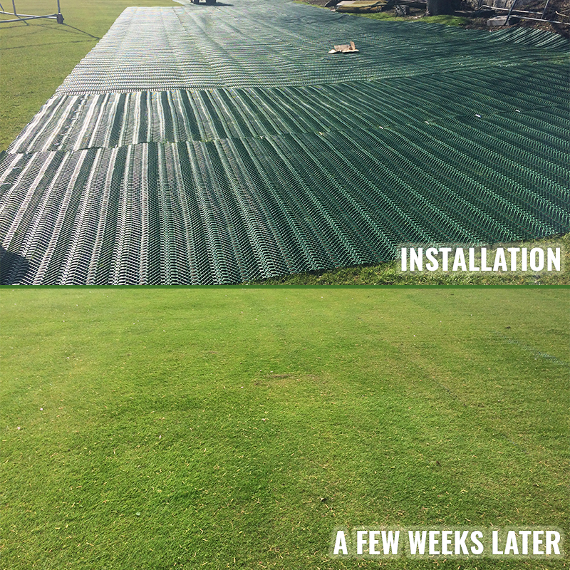 Grange Sports Club - TurfMesh Before and After