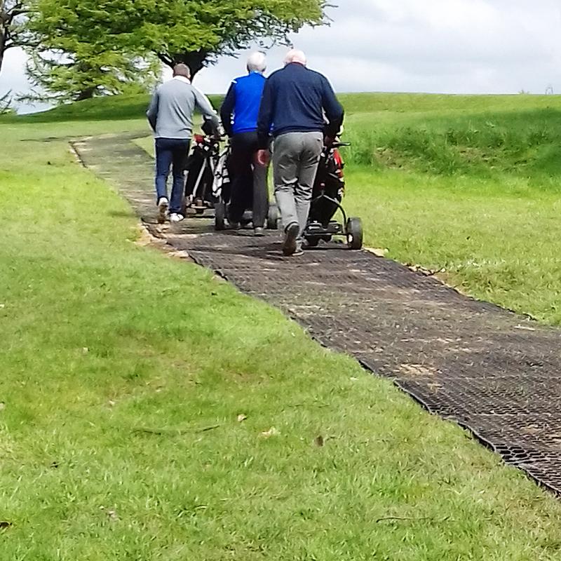Lancaster Golf Club's Rubber Grass Mats Path - Conclusion