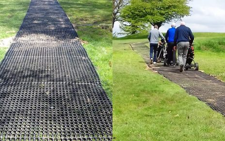 Lancaster Golf Club's Rubber Grass Mats Path - Featured Image