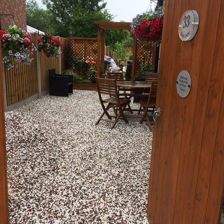 Gardeners' World X-Grid® Rain Garden - Completed