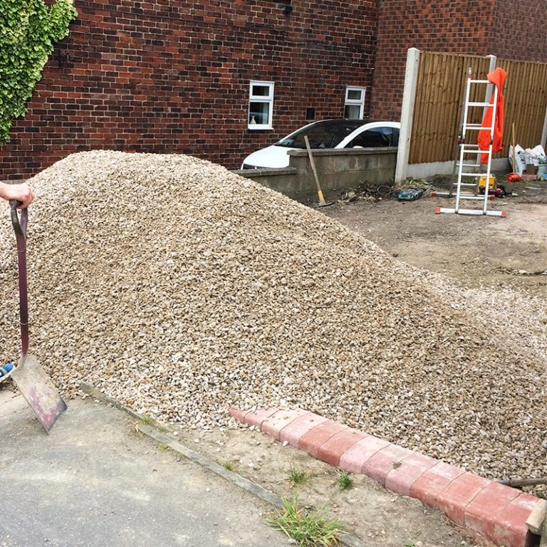 Gardeners' World X-Grid® Rain Garden - Gravel Delivered