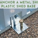 Anchor Metal Shed To Plastic Base - Featured Image TGR