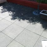 Rubber Tiles Used To Pave An Entire Backgarden Featured Image