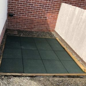Inflatable Hot Tub Base Under Lay-Z-Spa - Base Laid