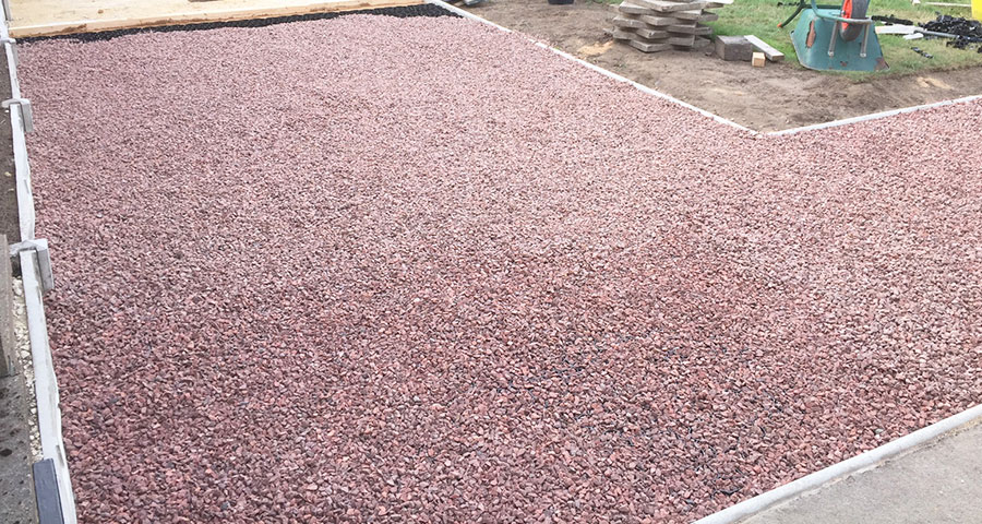 50m² X-Grid Gravel Patio - Featured Image