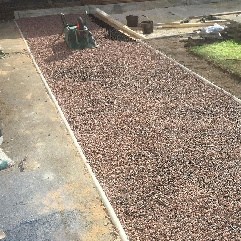 50m² X-Grid Gravel Patio - Image 2