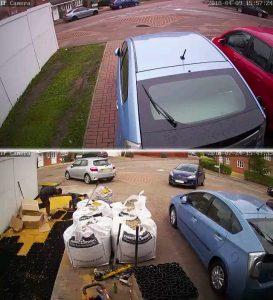 Gravel Driveway Installation - Before & Ground Preparation
