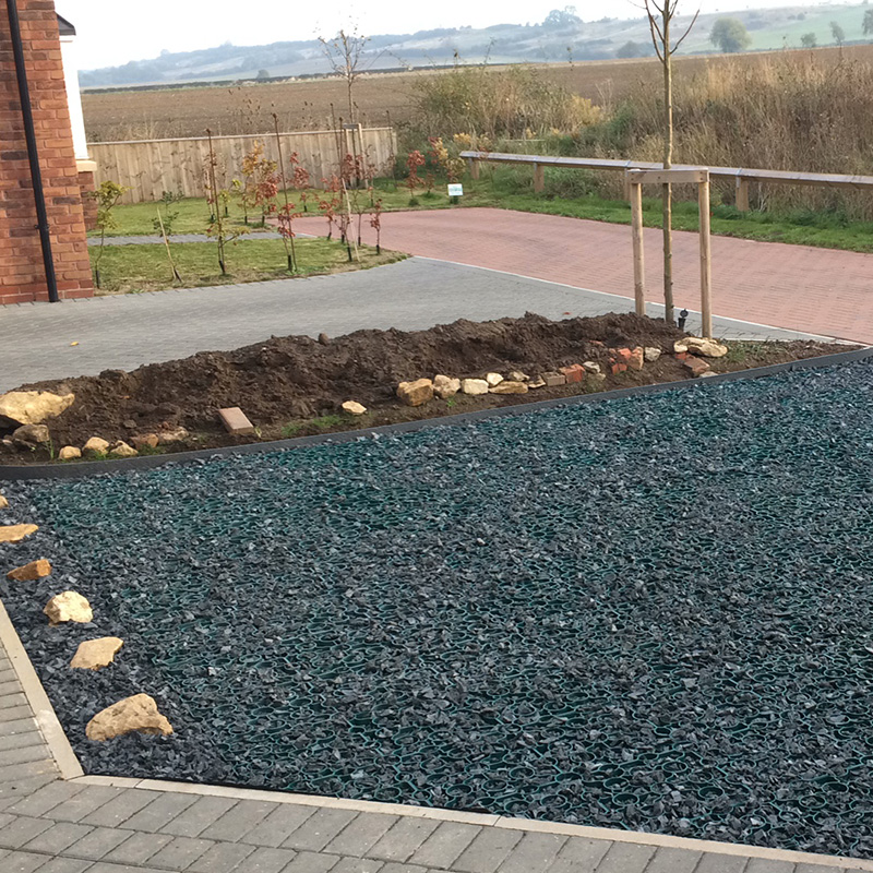 Green X-Grid Domestic Driveway Completed