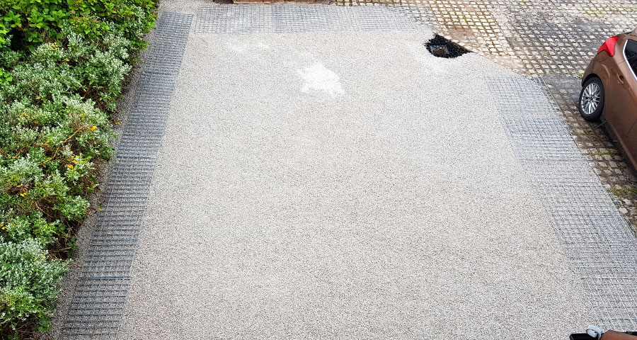 56m² X-Grid Gravel Driveway - Featured Image