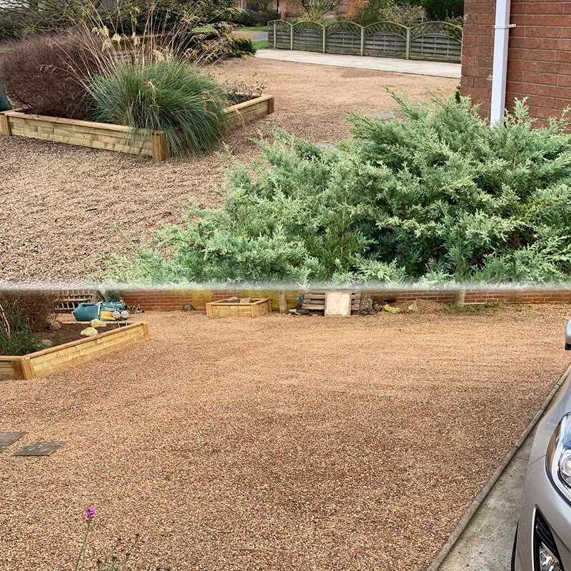 Gravel Driveway Created Using 33m2 of Green X-Grid - Conclusion