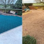 Gravel Driveway Created Using 33m2 of Green X-Grid - Featured Image