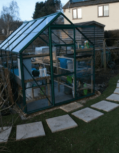Greenhouse Base Installed