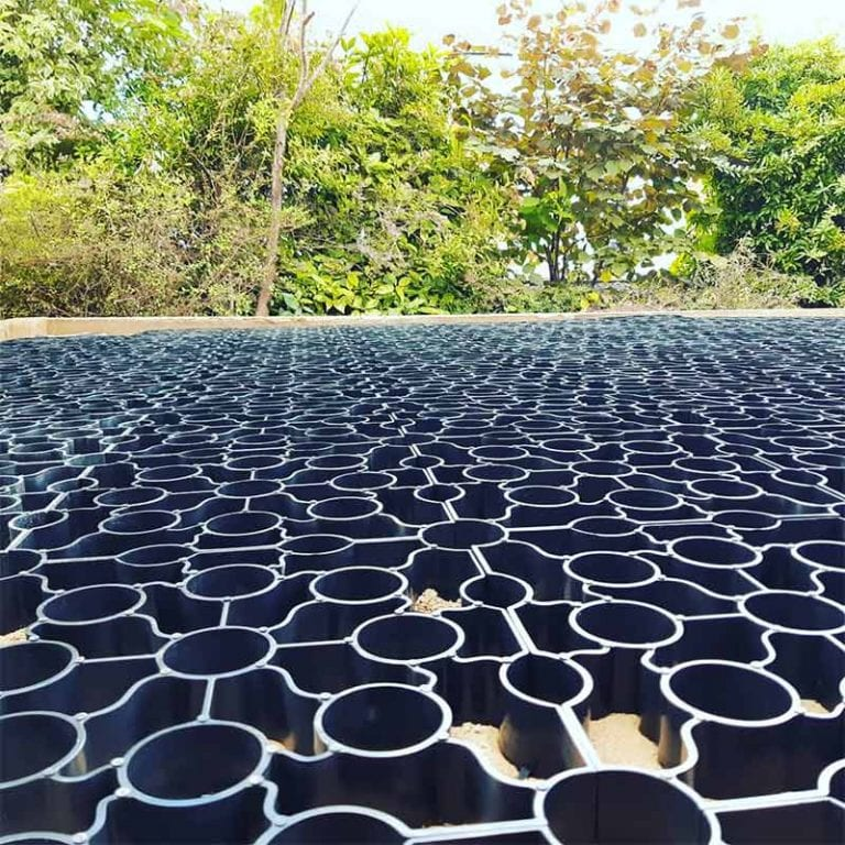 Recycled Plastic Panels Close Up