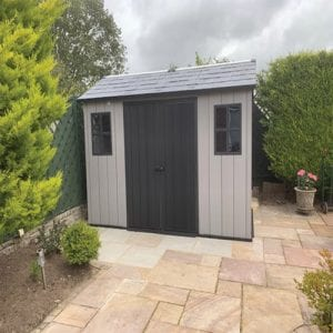 Keter Oakland 11'x7.5' Customer Review - Installation Finished