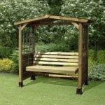 Wooden Arbour Seat - The Garden Range
