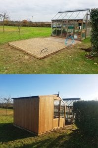 10ft x 7ft Shed Base Conclusion
