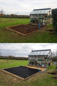 10ft x 7ft Shed Base Work