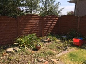 12ft x 8ft Plastic Shed Base Review - Before