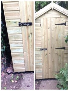6ft x 4ft Plastic Shed Base Kit Installation - Shed In Place