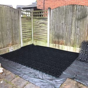 8ft x 8ft Plastic Shed Base Review - Membrane & base